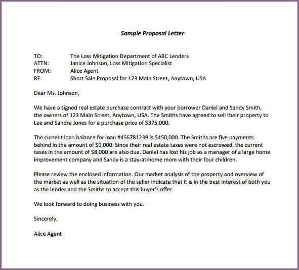 SAMPLE TRAINING PROPOSAL LETTER | proposalsampleletter.com