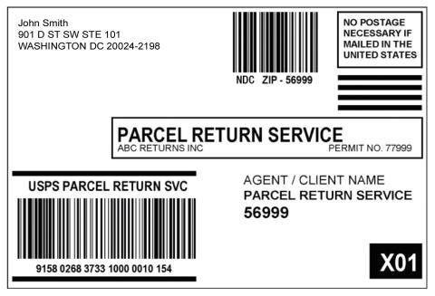 DMM 505 Return Services