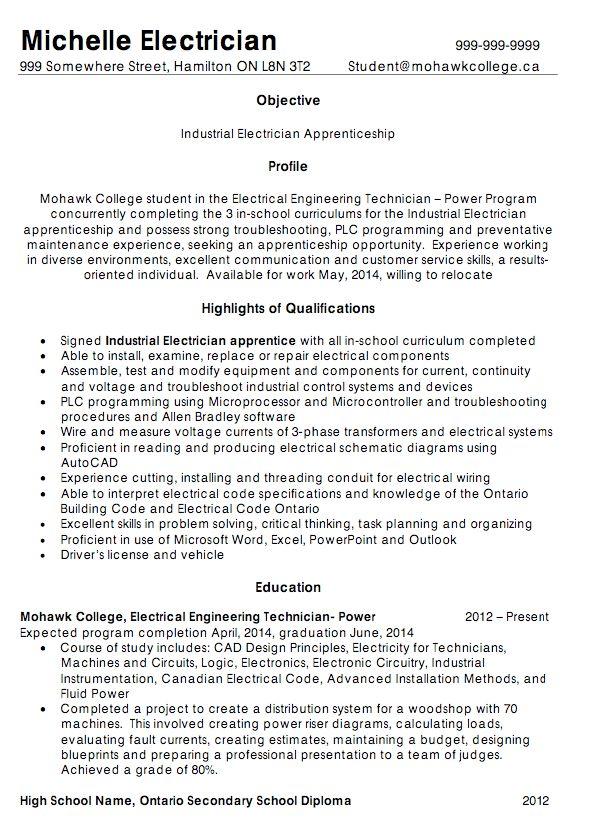 industrial electrician resume sample - RESUMEDOC
