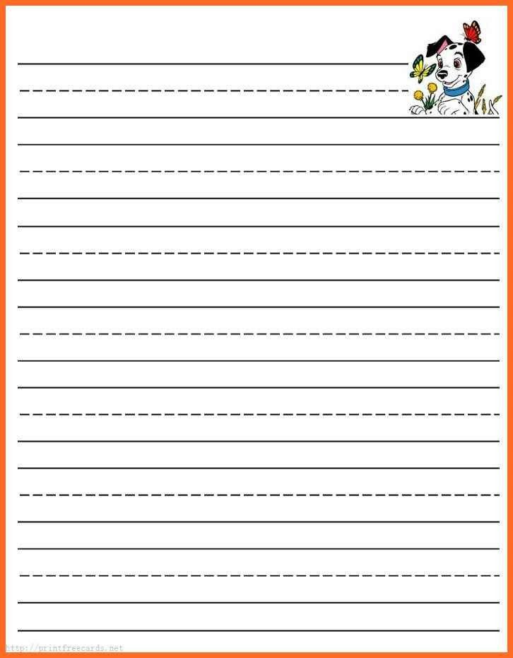 free printable lined paper | soap format