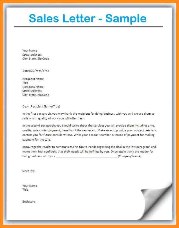11+ example of sales letter for product - mystock clerk