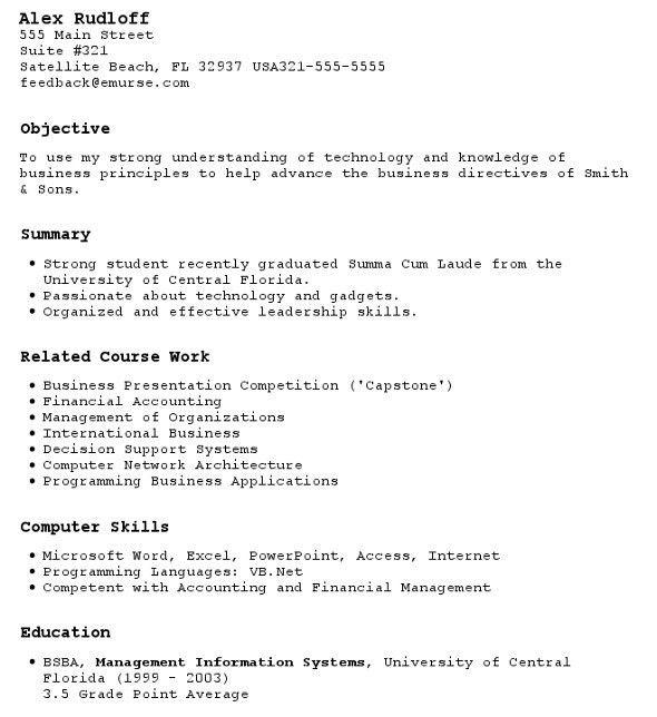 Download First Resume Objective | haadyaooverbayresort.com