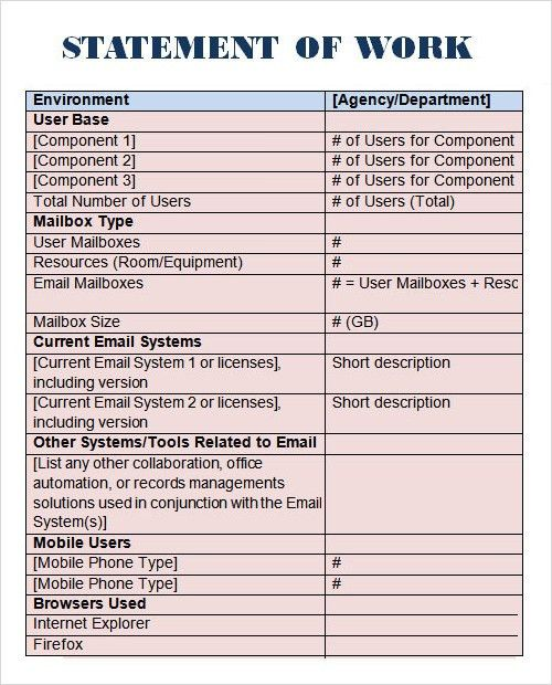 Sample Statement - 6+ Documents in PDF, Word