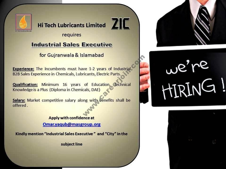 ZIC Motor Oil HI TECH Lubricants Limited Jobs Industrial Sales ...