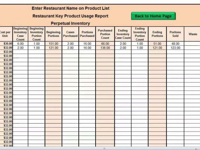How To Track Inventory Simple Stocktaking Spreadsheet Stock ...