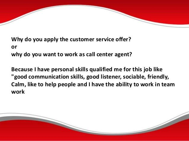 Vodafone call center interview questions