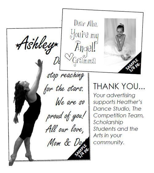 13 best Dance Recital program ad ideas images on Pinterest | Dance ...