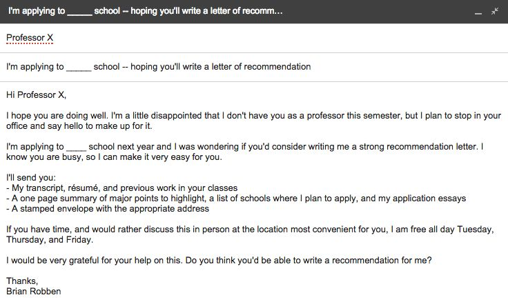 The Ultimate Guide For Requesting A Letter Of Recommendation For ...