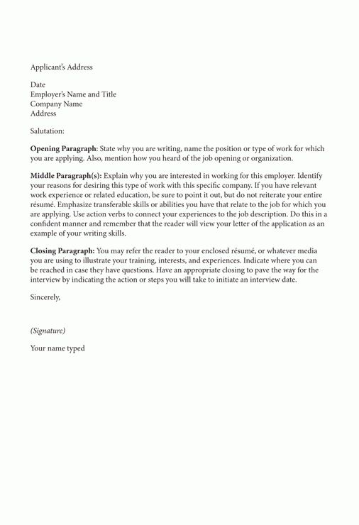 simple cover letter sample. creative resume template cover letter ...