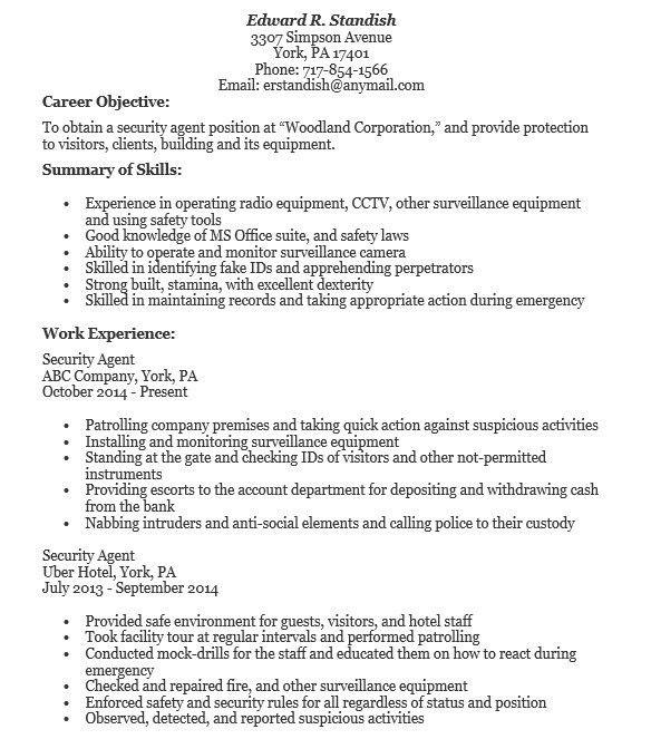 Mock Resume [Template.billybullock.us ]