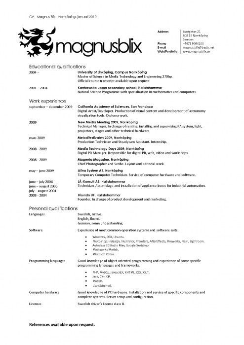 Popular Resume Templates. Top Resume Templates Including Word ...