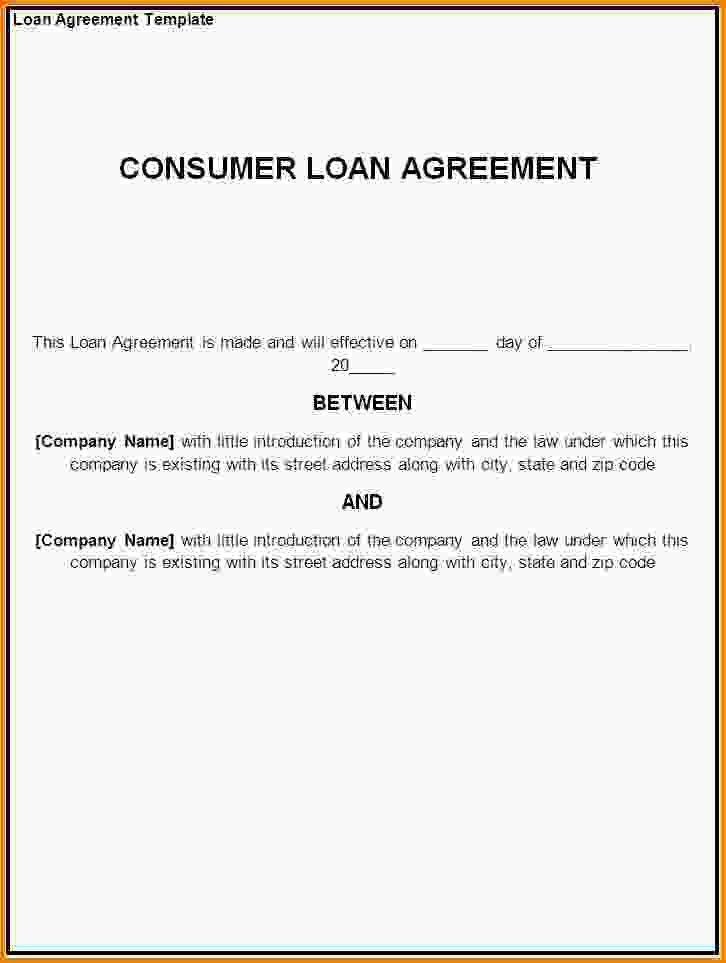 Free Loan Agreement Template.Loan Agreement Template.gif - Letter ...