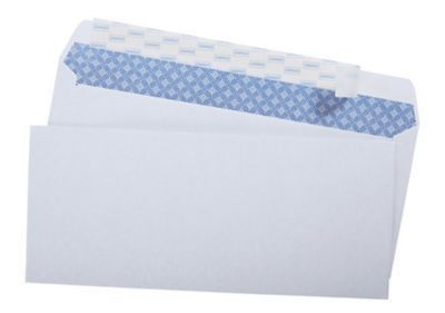 "Staples EasyClose Security Tint #10 Envelope, 4-1/8"" x 9-1/2 ..."