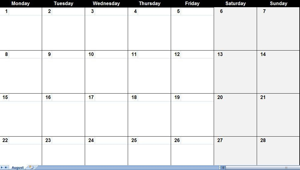 Calendar Templates. This Calendar Template Is Designed To Help You ...