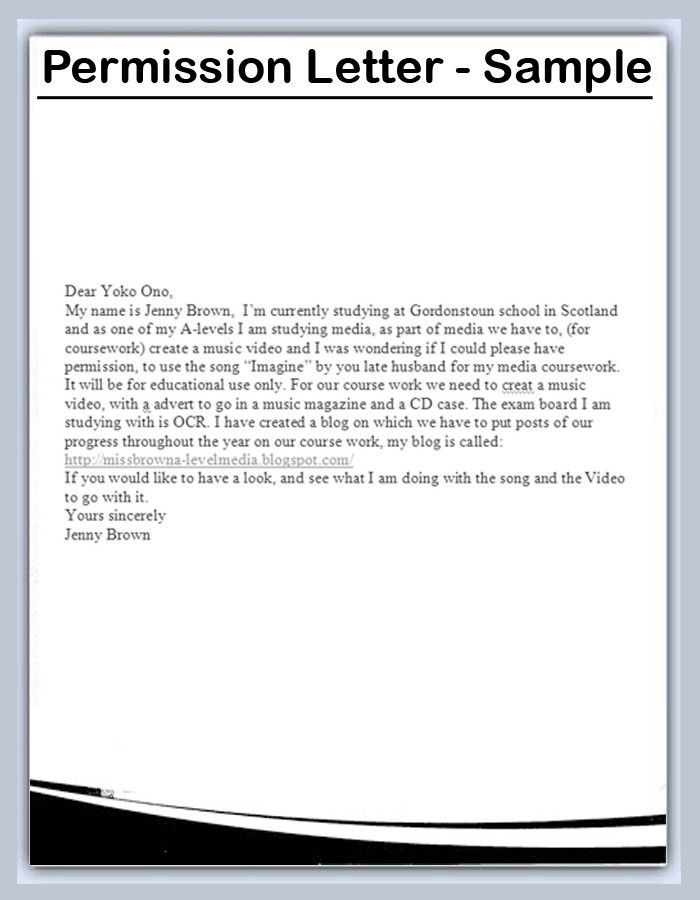 sample permission letter for traveling child pictures pin the ...