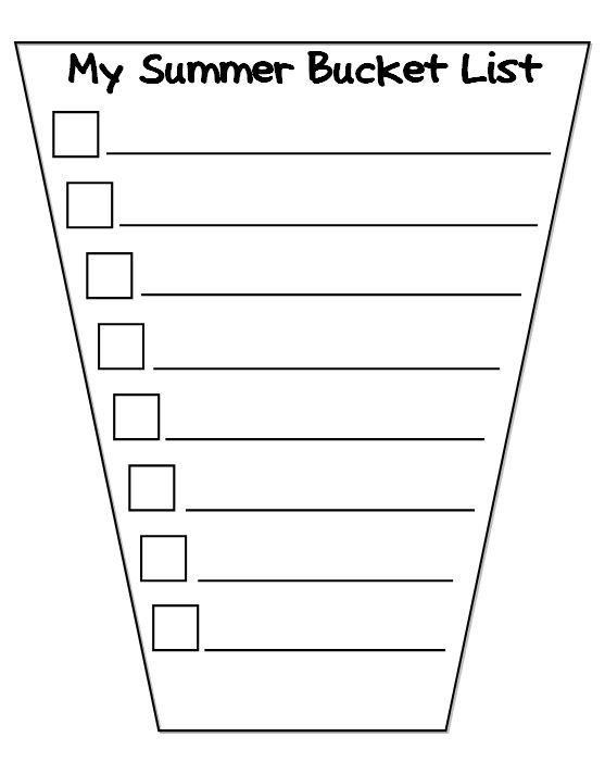 bucket list template - Google Search | BUCKET LIST CLASS ...