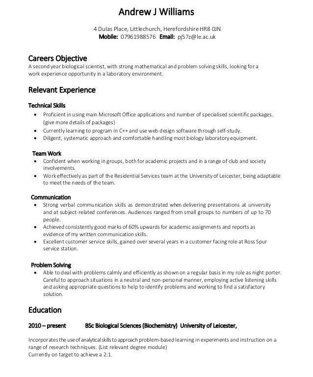 Intricate Skill Based Resume Template 5 Skills Examples - Resume ...