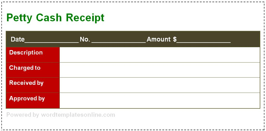 Receipt Template - Microsoft Word Templates