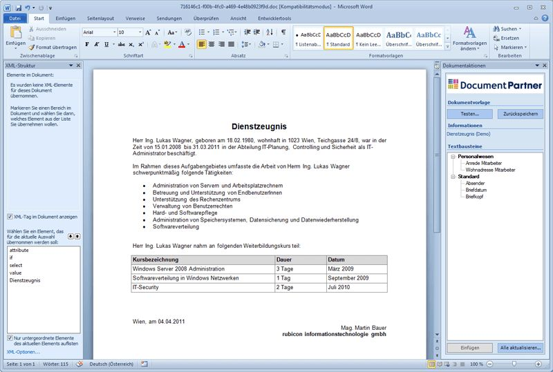 template word document - Template