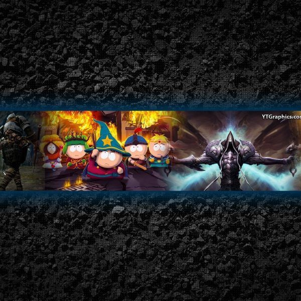 Youtube Channel Art Banner Template with Youtube Gaming Banner ...