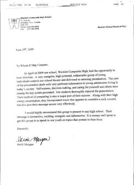 Writing Captivating Recommendation Letter. Recommendation Letter ...