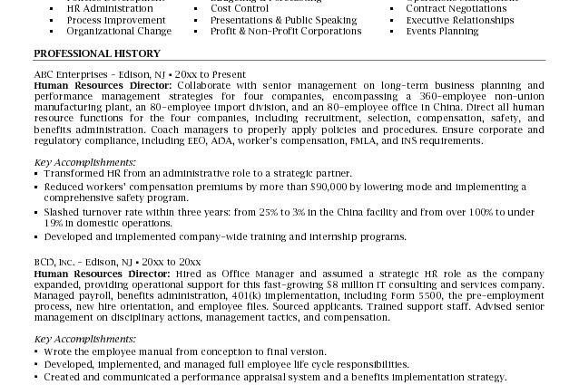 human resources resume Microsoft Word JK HR Director - Writing ...