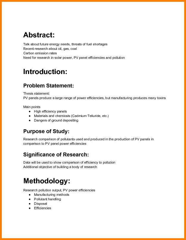 5+ A full example of research proposal | Proposal Template 2017
