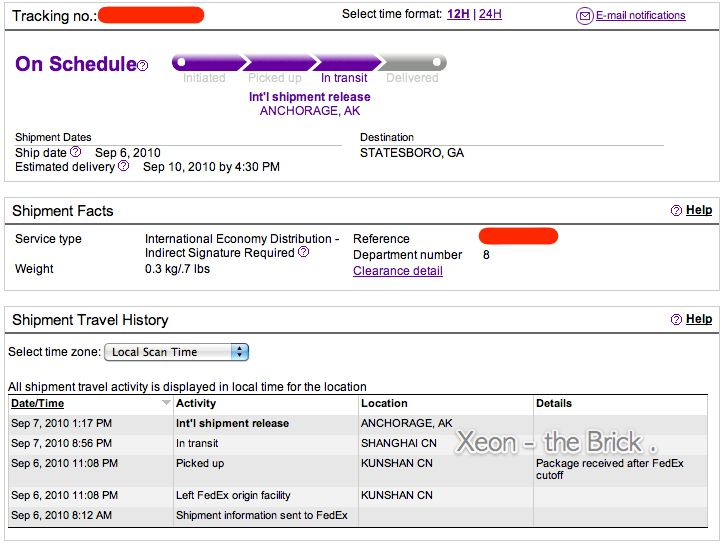 Live-Tracking the FEDEX Flights -- AKA, Where EXACTLY is YOUR iPod ...
