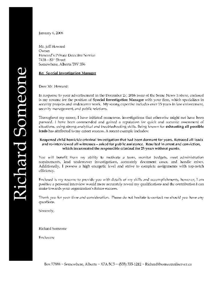 Remarkable Police Officer Cover Letter 15 Sample Ceo Personal ...