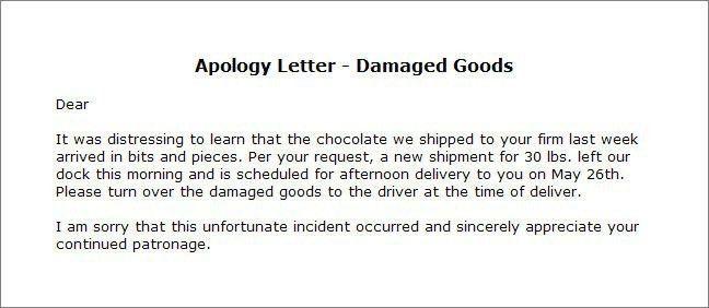 Apology Letter Formal, 7+ informal apology letter - sales clerked ...