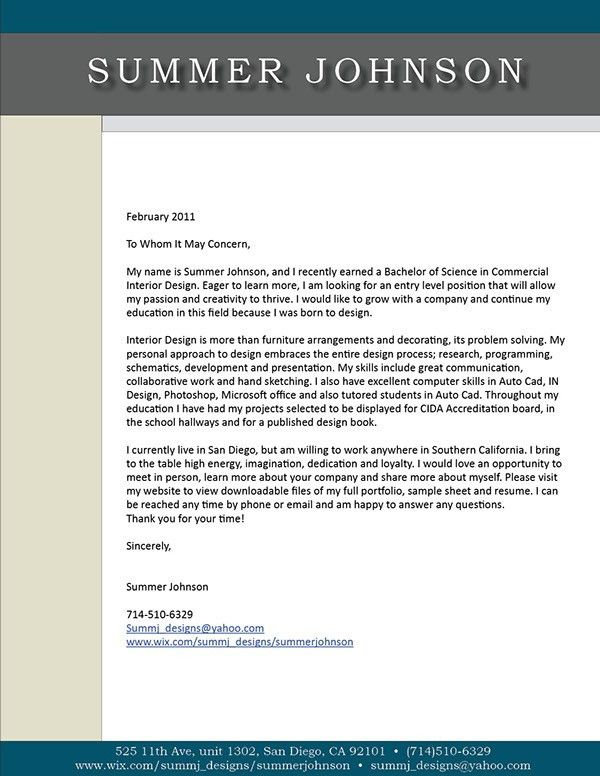 Beautiful Academic Cover Letter Sample Writing Pictures - Best ...
