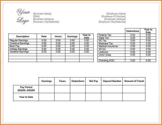 12+ payroll check template | writable calendar