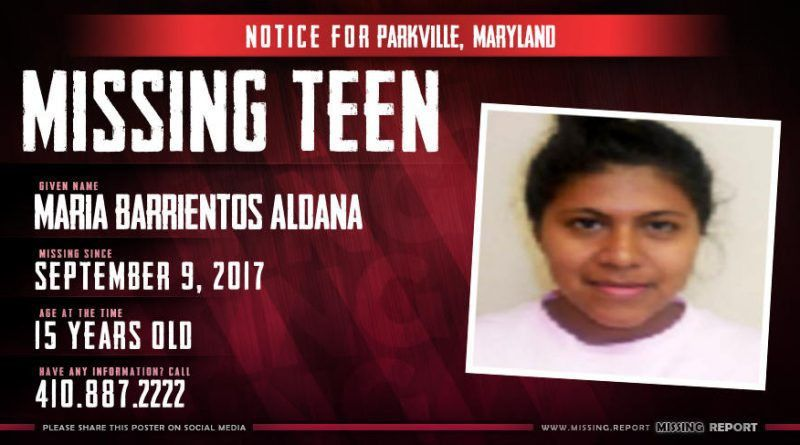 MISSING PERSON • Deja Staten • Parkville, Maryland • 16 Years Old