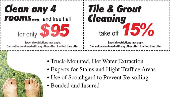 Carpet Cleaning Business Cards #C0002 (BACK VIEW)