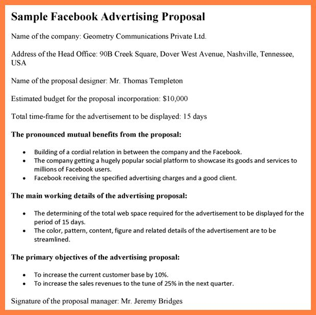 5+ advertising proposal template | Bussines Proposal 2017