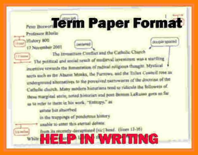 9+ format of term paper example | target cashier