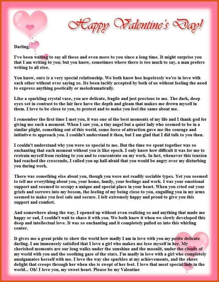 Romantic Love Letters. 20+ Special And Romantic Love Letters For ...