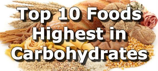 Top 10 Foods Highest in Carbohydrates (To Limit or Avoid)