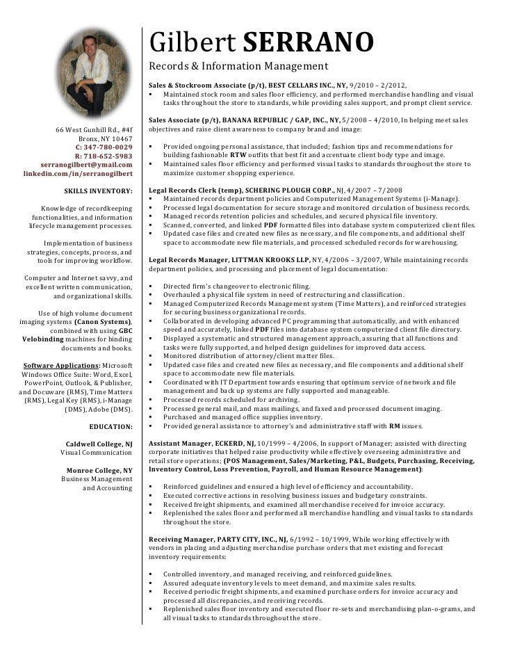 Resume, gilbert serrano 21
