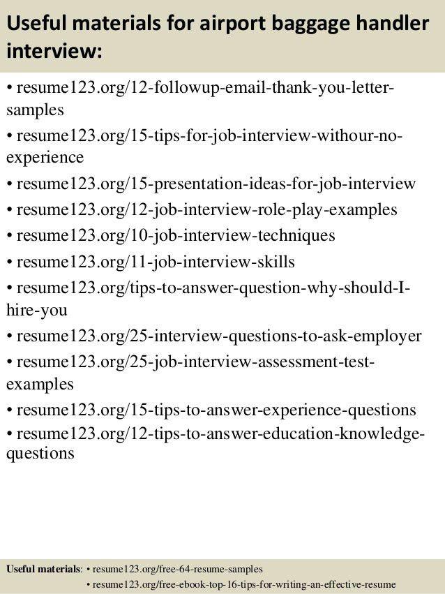 sample resume for material handler material handler resume