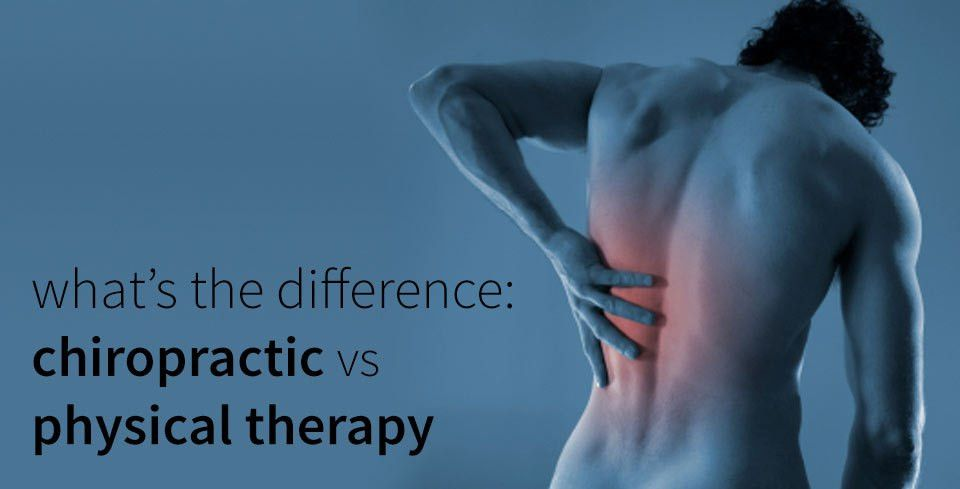What's the difference between a Chiropractor and Physical ...