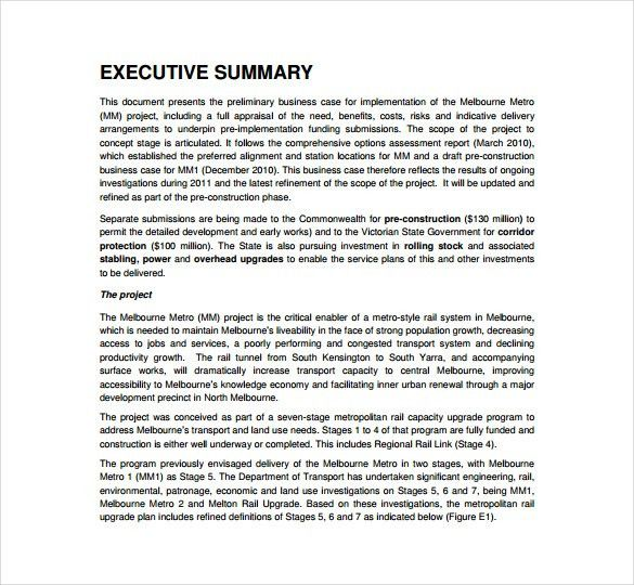 Business Case Template - 12 Free Word, PDF Documents Download ...