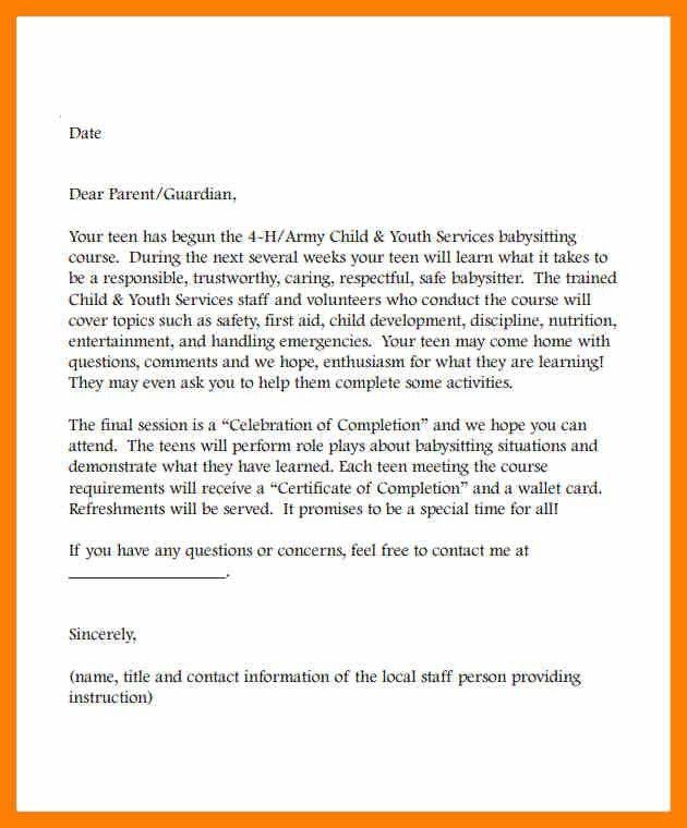 3+ babysitter reference letter | attendance sheet