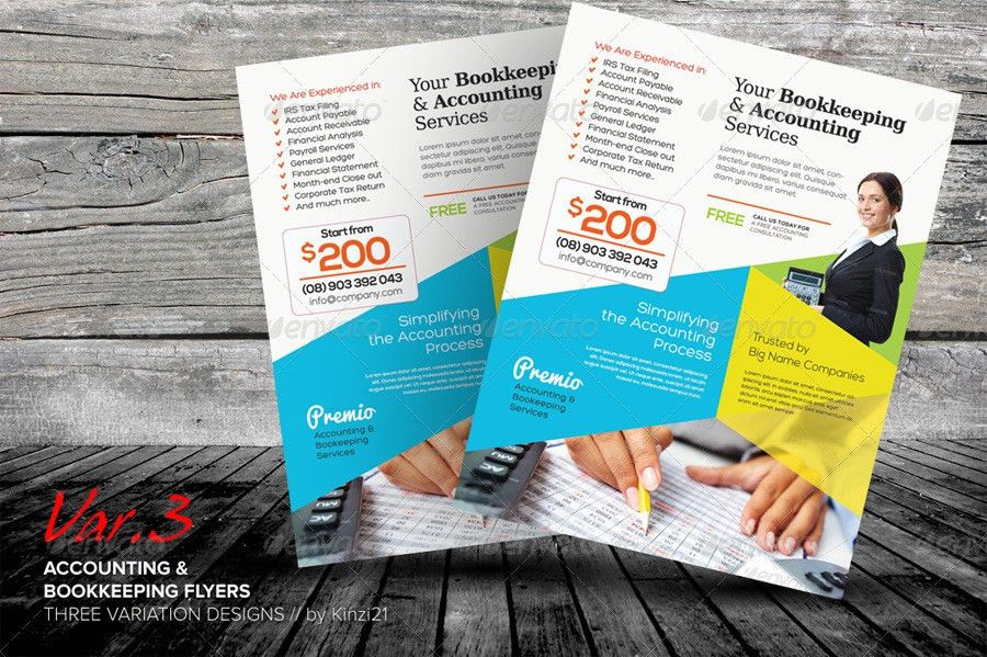 Bookkeeping Flyers Images - Reverse Search