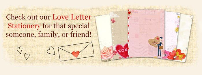 Printable Love Letter Templates & Stationery | Blue Mountain