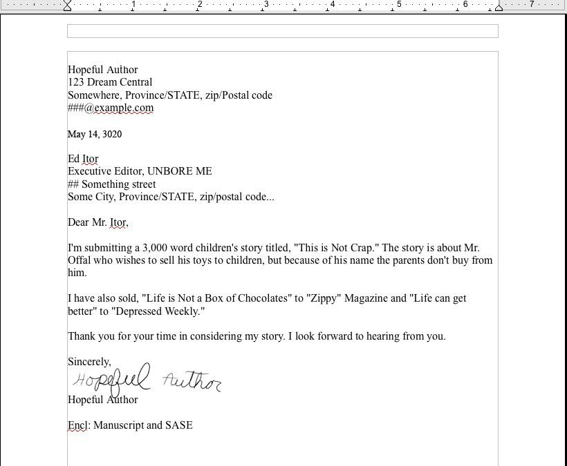 format for email cover letter purchase order pdf template sample