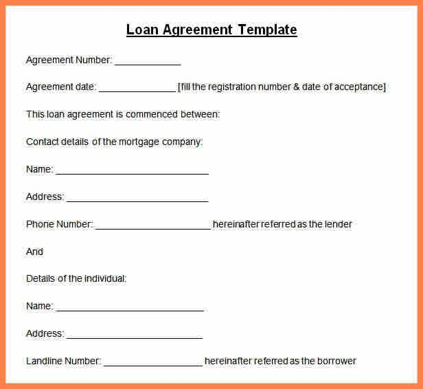 6+ Sample Personal Loan Agreement Template | Purchase Agreement Group