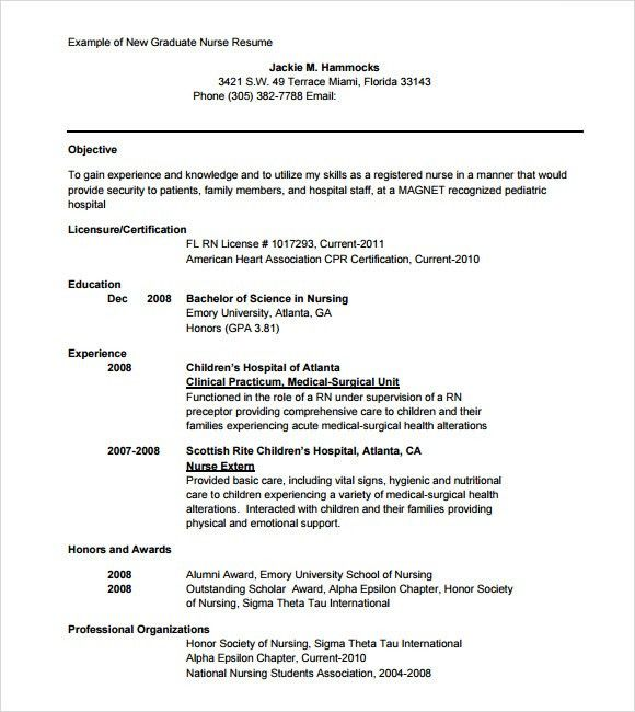 resume sample nursing nurse resume template free 7 pedratic nurse ...
