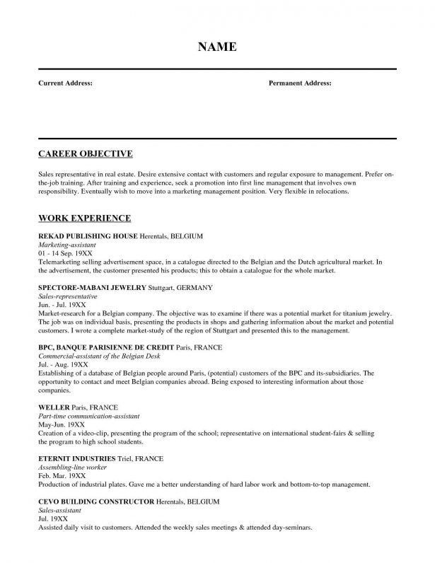 Resume : Objective For Truck Driver Resume Restaurant Server ...