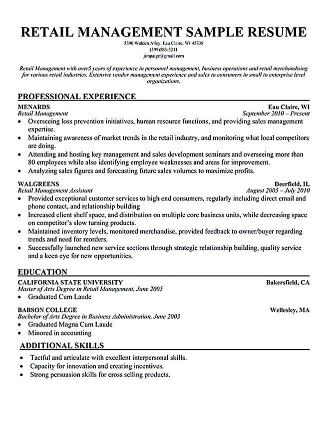 10 Store Manager Duties Resume Job Duties assistant store manager ...